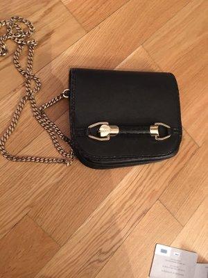 Jimmy Choo Tasche aus schwarzem Leder