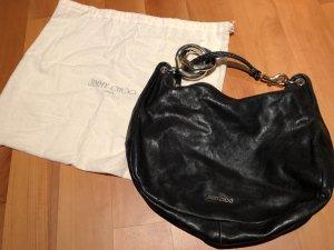 Jimmy choo Tasche schwarz Leder