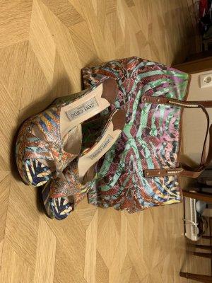 Jimmy Choo Tasche und Schuhe Gr. 37