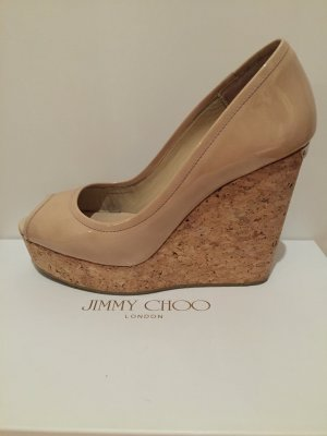 Jimmy Choo Wedges nude