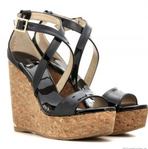 JIMMY CHOO - Wedges Portia 120