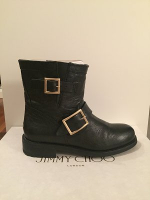 Jimmy Choo Youth Biker Boots 35 1/2