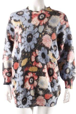 Jiwei Pullover Blumenmuster