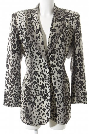 Joachim Bosse Long Blazer leopard pattern casual look