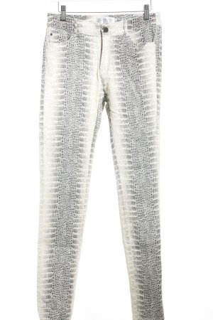 Joachim Bosse Skinny Jeans Animalmuster Animal-Look