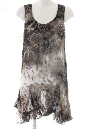Joachim Bosse Trägerkleid florales Muster schlichter Stil