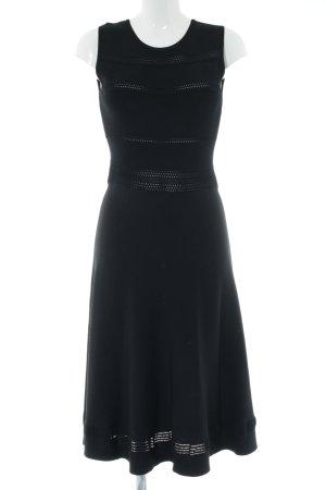 Joana Danciu Strickkleid schwarz Elegant