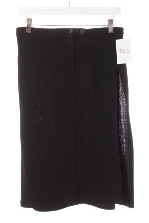 Joanna Gaye Bleistiftrock schwarz schlichter Stil