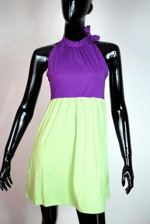 Robe Babydoll multicolore viscose