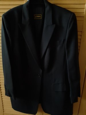 Jobis Blazer long noir laine vierge