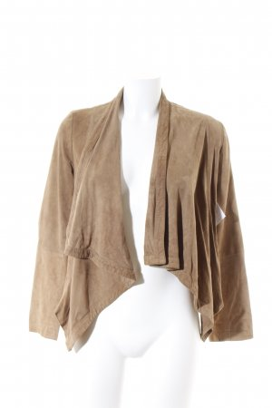 Jobis Bolero camel Street-Fashion-Look