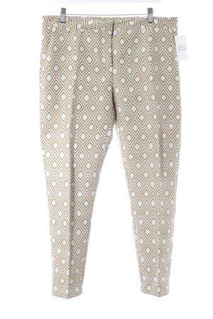 Jobis Pantalon à pinces motif abstrait style décontracté