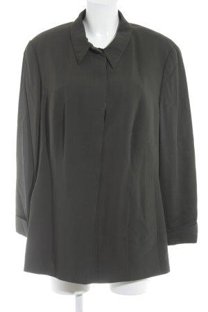 Jobis Hemd-Bluse dunkelgrün Casual-Look