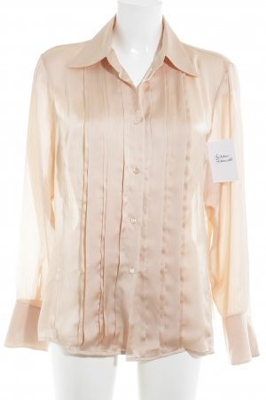 Jobis Langarm-Bluse apricot Business-Look