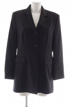 Jobis Long-Blazer schwarz Business-Look