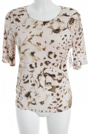 Jobis Print-Shirt Allover-Druck Animal-Look