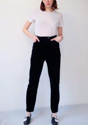 Jobis Pantalón de cintura alta azul oscuro Algodón