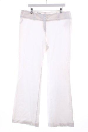Jobis Stoffhose weiß minimalistischer Stil