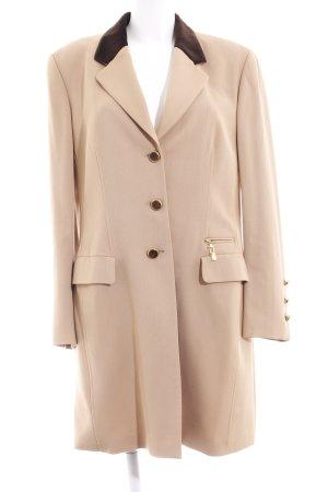 Jobis Abrigo de entretiempo marrón claro-marrón oscuro elegante