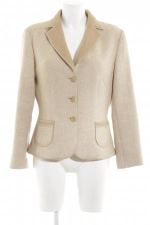 Jobis Wool Blazer cream business style