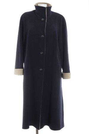Jobis Wool Coat dark blue-sand brown elegant