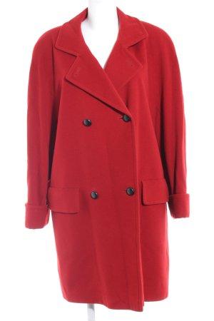Jobis Wollmantel rot klassischer Stil