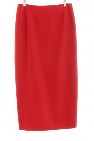 Jobis Wool Skirt red elegant