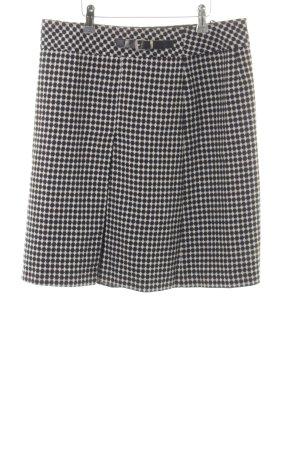 Jobis Wollen rok zwart-wit gestippeld patroon zakelijke stijl