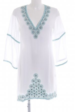 Jodé Tunic Dress embellished pattern beach look