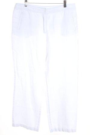Jodhpur Leinenhose weiß Casual-Look
