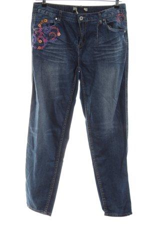 Joe Browns Jeans carotte bleu élégant