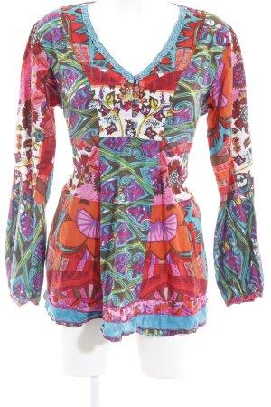 Joe Browns Langarm-Bluse Blumenmuster Hippie-Look