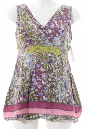 Joe Browns Lange top bloemen patroon hippie stijl
