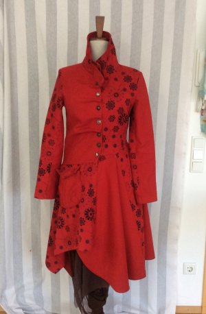 Joe Browns Mantel S/M Rot Alexander Mcqueen-Look