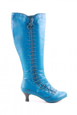 Joe Browns Schaftstiefel blau Casual-Look