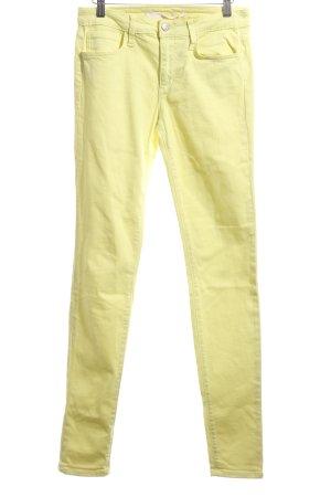 Joe's jeans Slim Jeans blassgelb Casual-Look