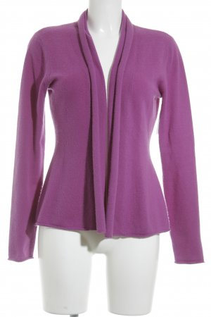 Joe Taft Cardigan lila-flieder Casual-Look