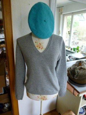 Joe Taft grauer Pullover 100% Cashmere Gr. 40 NEU