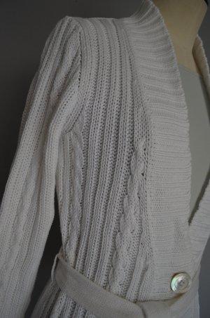 JOE TAFT Strickjacke m. Gürtel aus mercerisierter Baumwolle