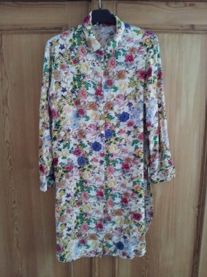 Long Blouse multicolored rayon