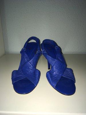 JOEY O Blaue Leder Sandalen