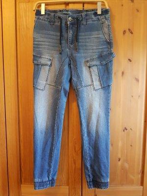 Urban Surface Jeans slim bleu azur-bleuet