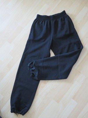 Pantalon de sport noir coton