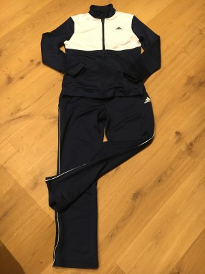 Adidas Ropa deportiva azul oscuro-blanco