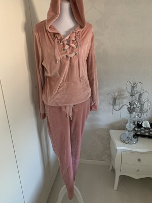 Jogging Anzug rosa neu