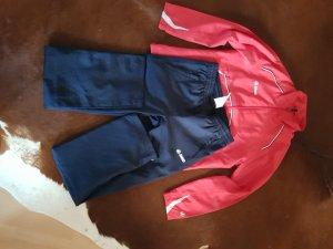 Jako Leisure suit dark red-dark blue