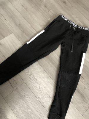 JD Pantalon de jogging noir-blanc
