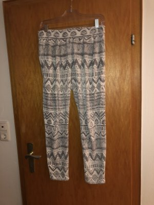 Pantalón deportivo gris-blanco