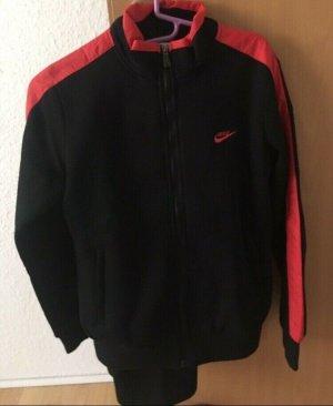 Nike Chándal negro-rojo