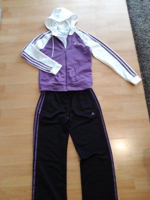 Adidas Veste de sport noir-violet